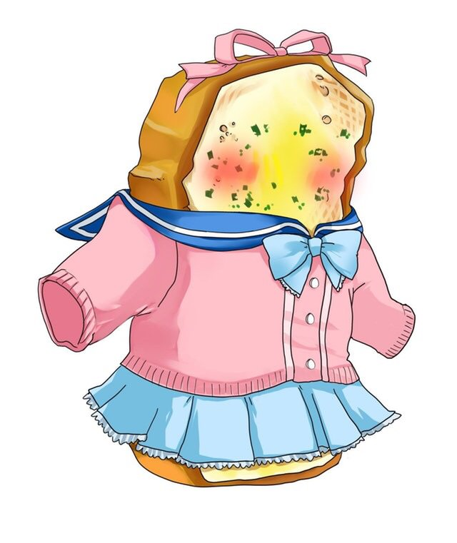 Someone is making a. Bread clipart character