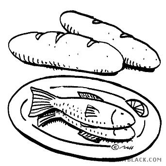 And clipartblack com animal. Bread clipart fish