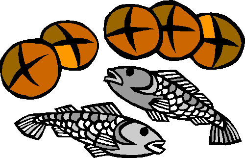 Bread clipart fish. Devotions by mental health