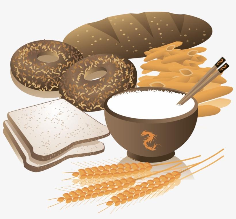 Breakfast whole wheat clip. Bread clipart grain