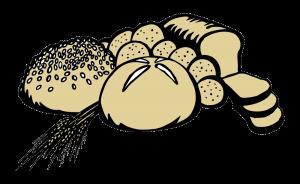 bread clipart grain