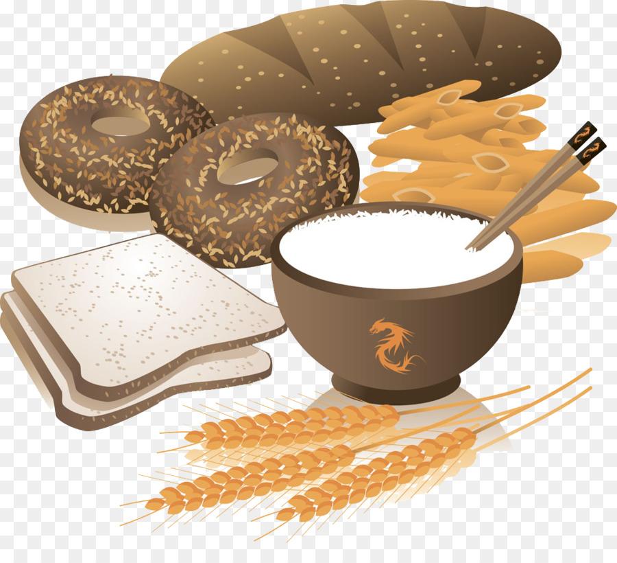 Bread clipart grain. Breakfast cereal whole wheat