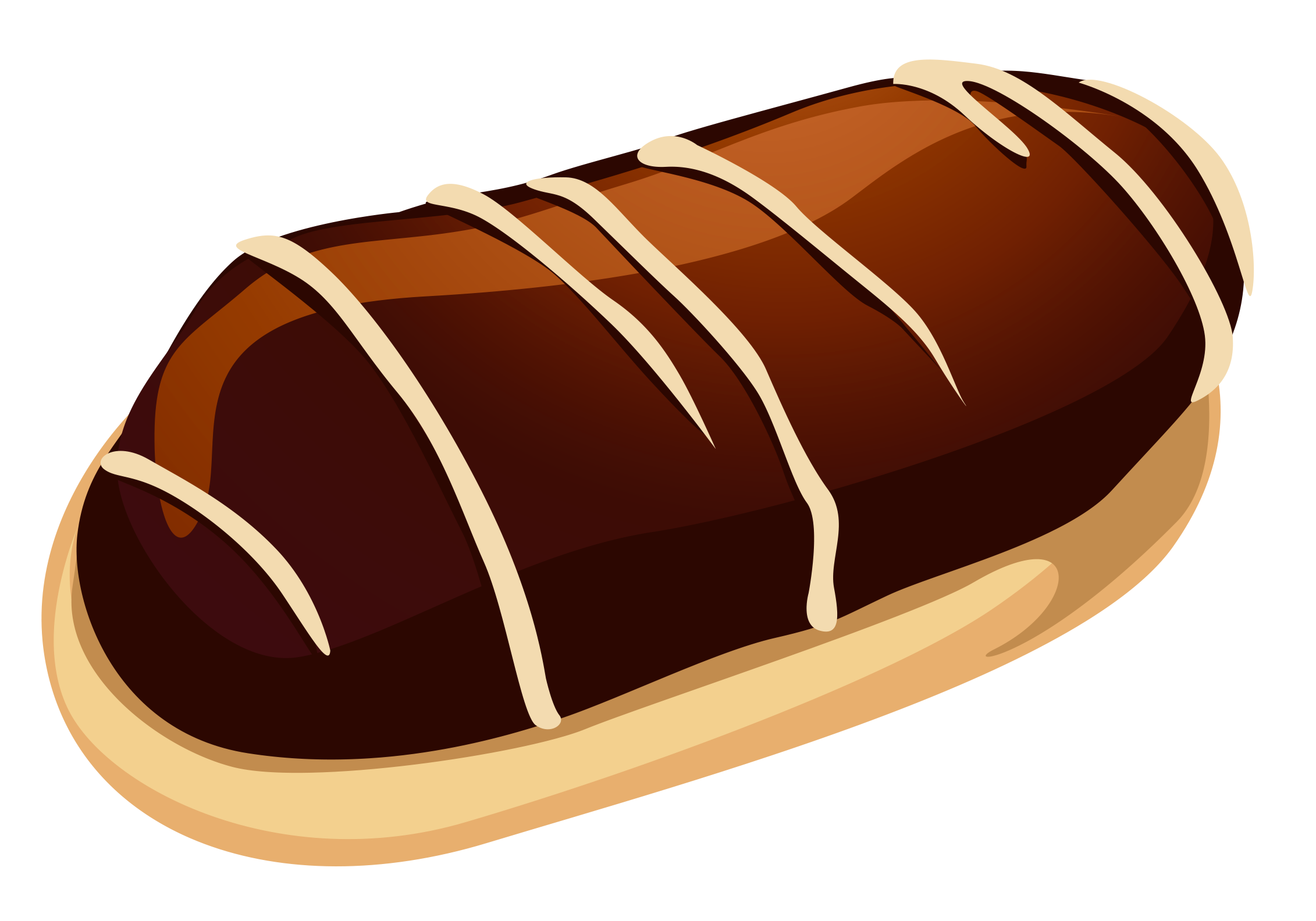 Sweet with chocolate png. Water clipart bread