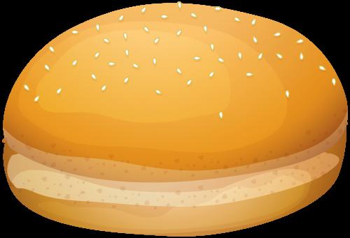burger clipart bread