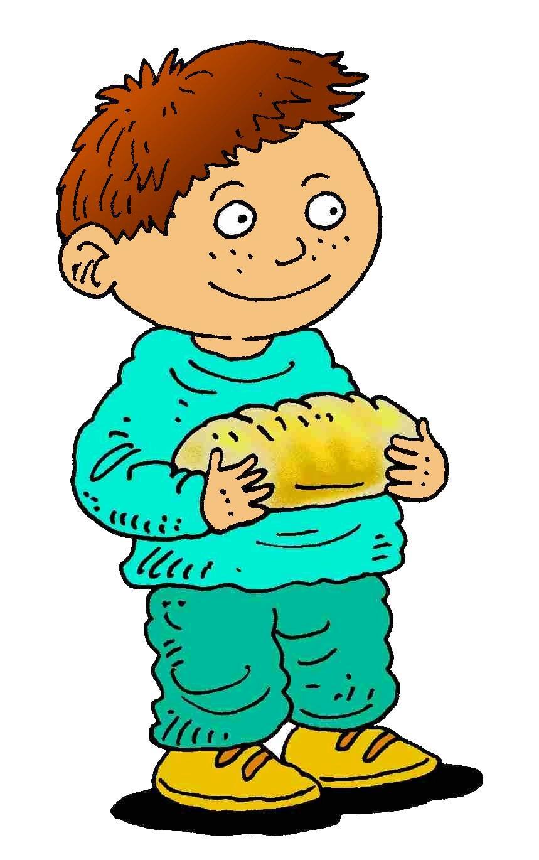 bread clipart kid