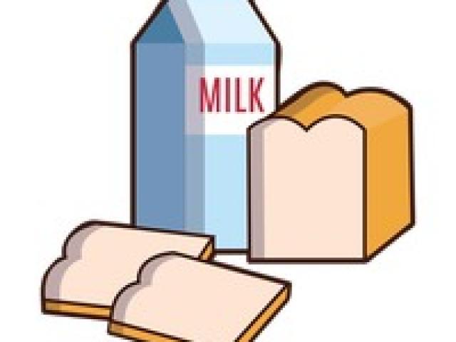 Clipart milk bread milk. X free clip art