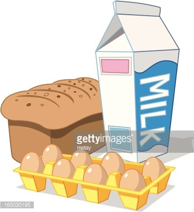 And eggs premium clipartlogo. Clipart milk bread milk