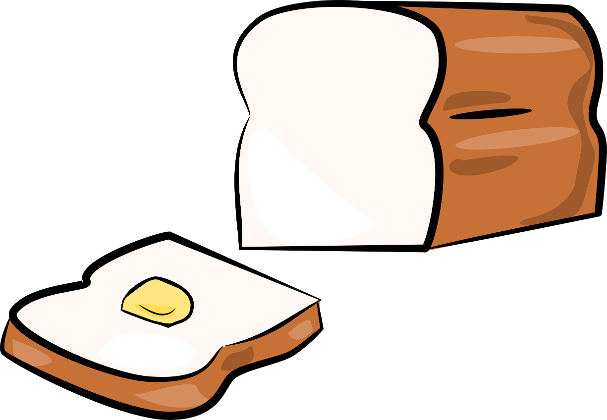 Free transparent bread cliparts. Cookbook clipart bakery