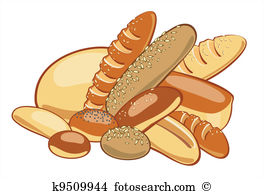 Station . Bread clipart package