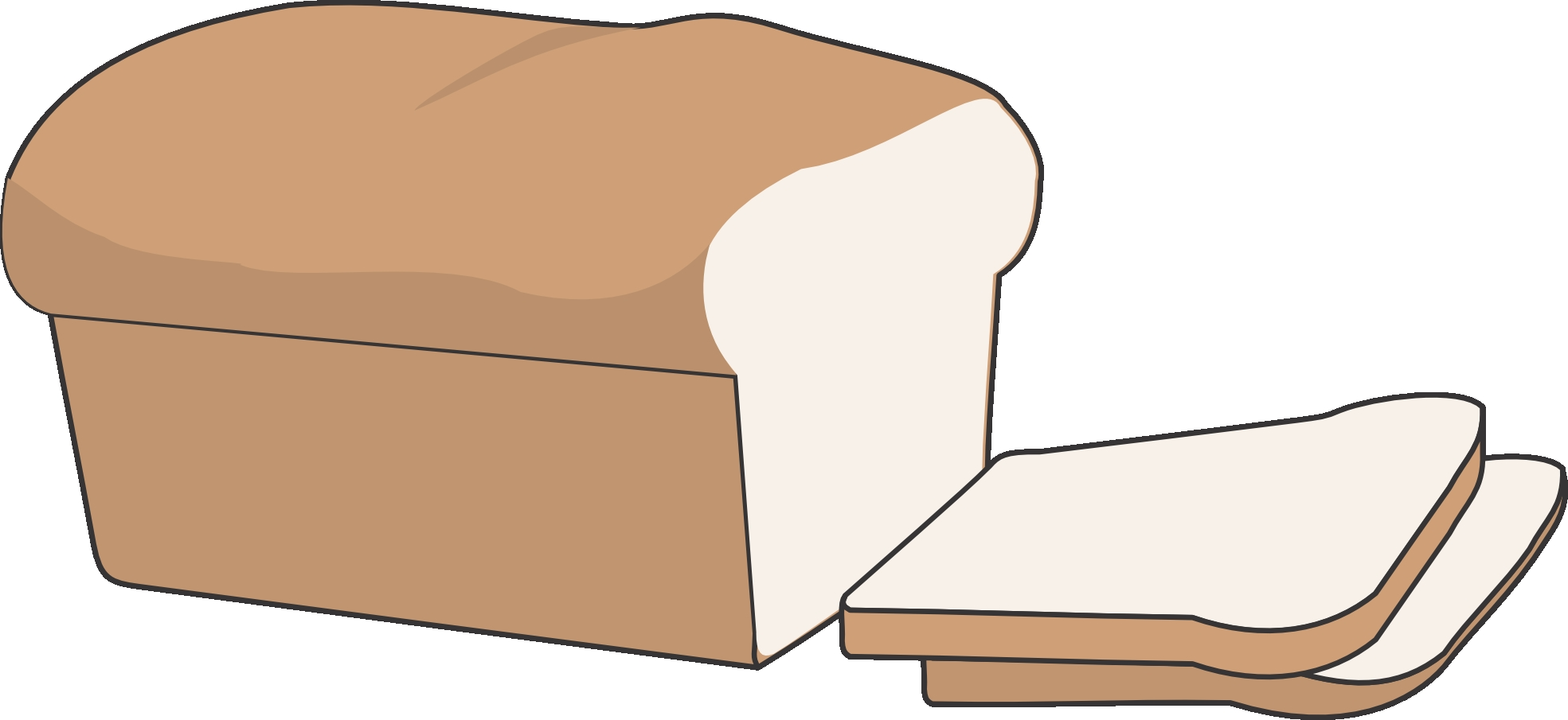 Bread clipart package. Unique loaf of collection