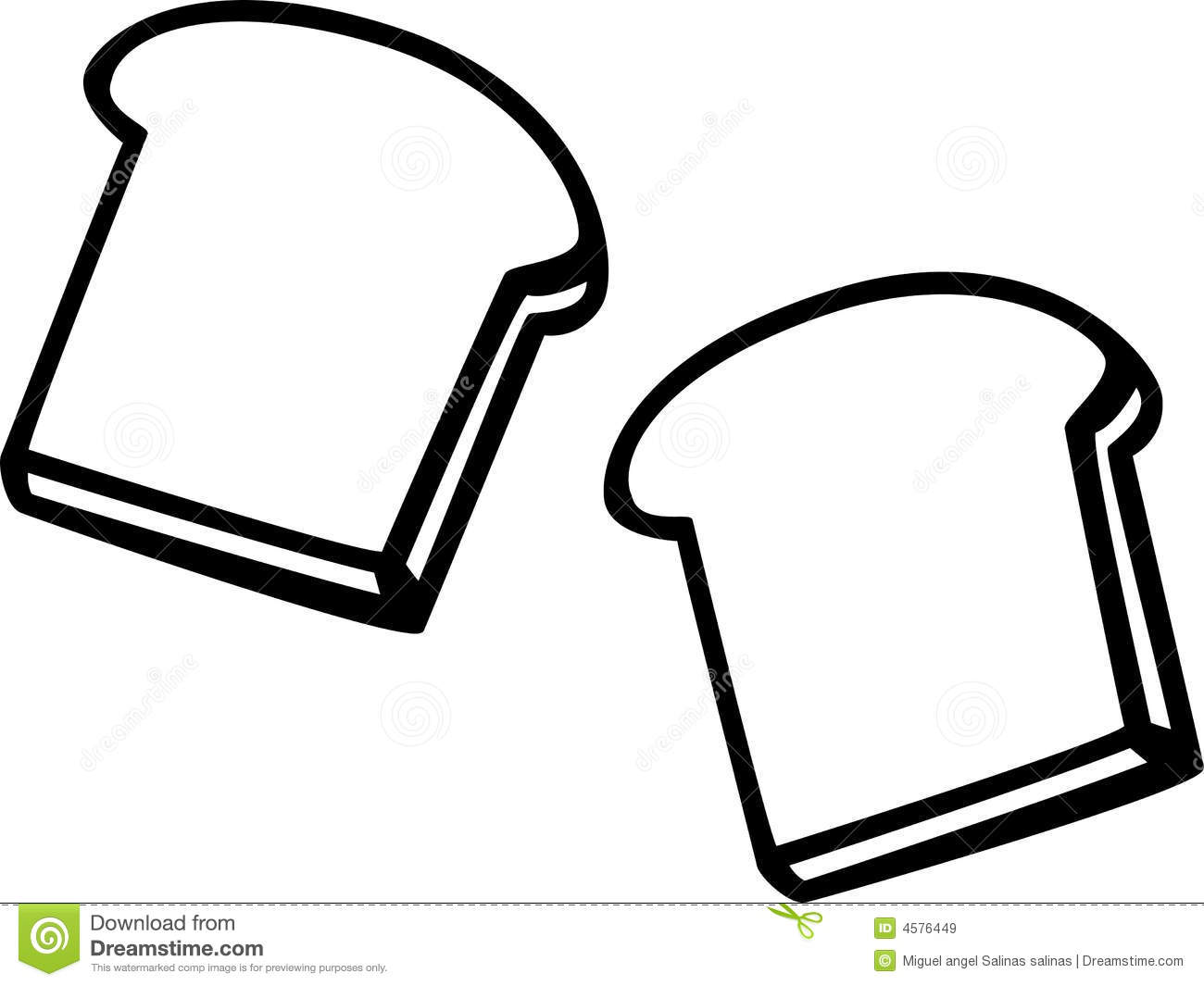 Bread clipart piece bread. Slice clip art viewing