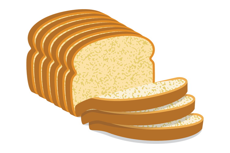 The slice is right. Clipart bread bread food