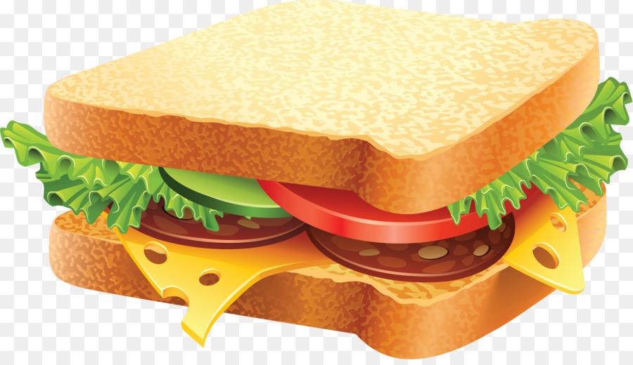 Clipart bread sandwhich. Junk food cartoon hamburger