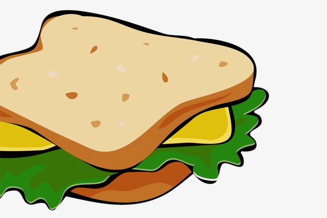 Bread clipart sandwich bread. Png image and