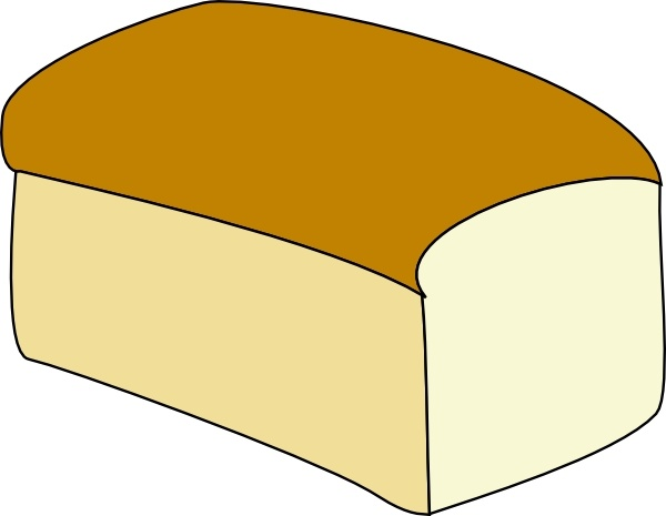 Bread clipart silhouette. Loaf drawing at getdrawings