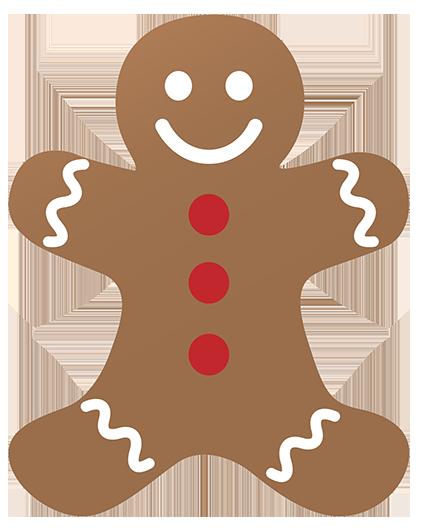Free christmas clip art. Bread clipart silhouette