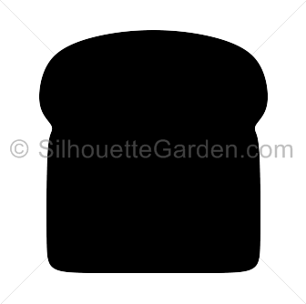 Bread clipart silhouette. Pin by muse printables