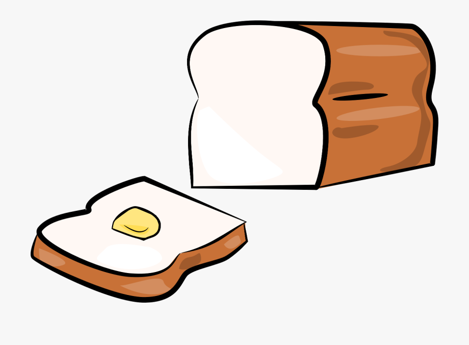 Pictures cliparts and butter. Bread clipart tasty bread