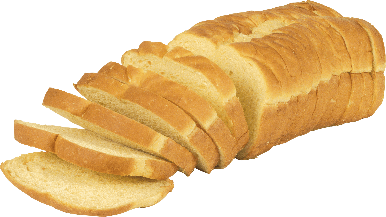 Sliced png stickpng. Bread clipart transparent background