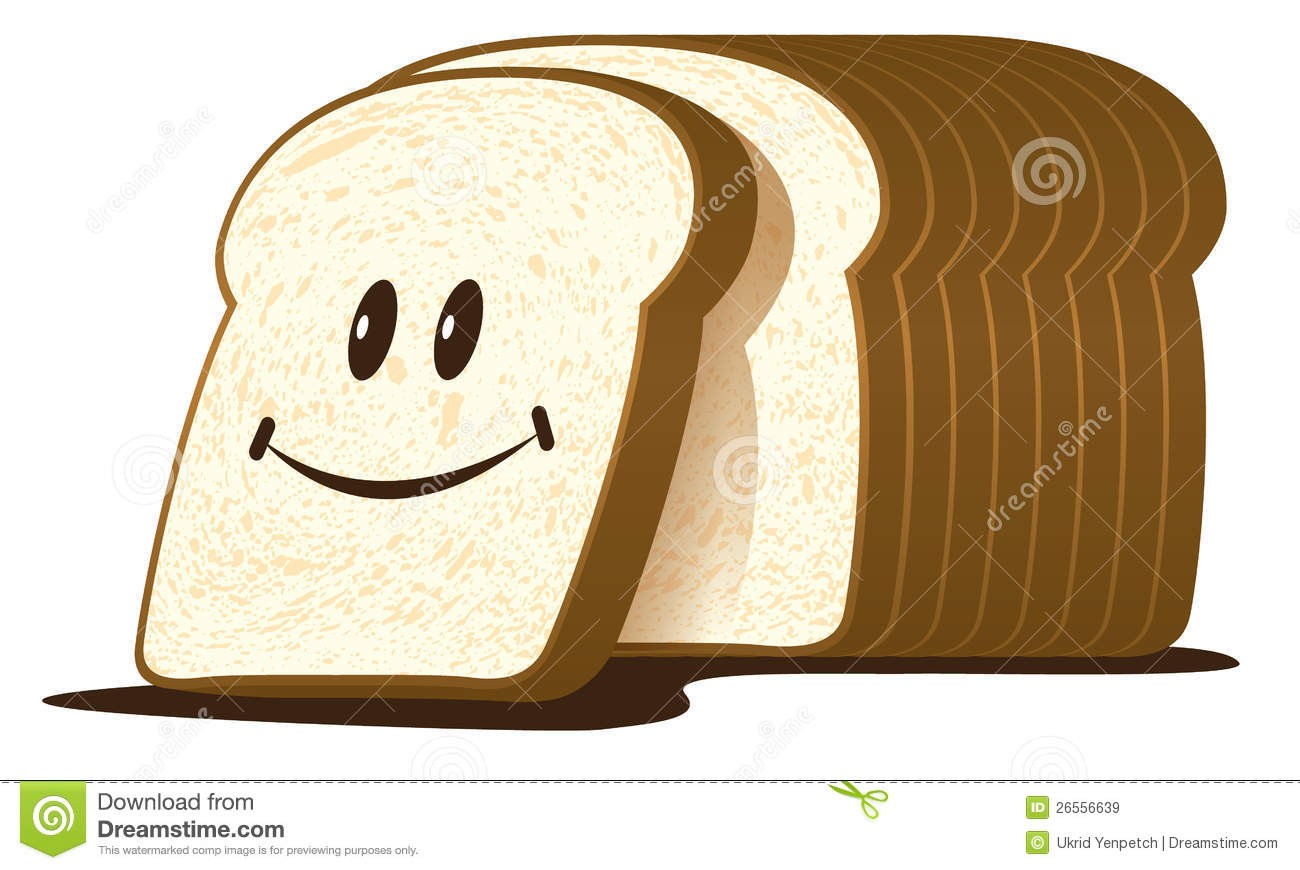 Bread clipart vector. Loaf of and illustration