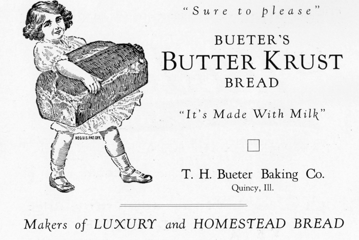 Bakery advertisement knick of. Bread clipart vintage