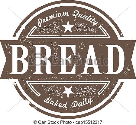 Bread clipart vintage. Pencil and in color