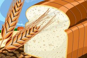 Walldevil donna feldman. Bread clipart wheat bread