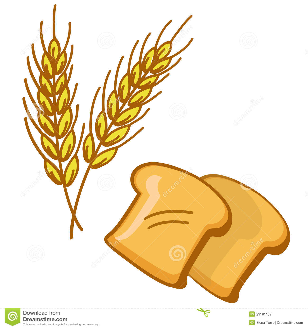 Wheat clipart wheat bread.  collection of whole