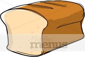 Bread clipart wheat bread. Loaf