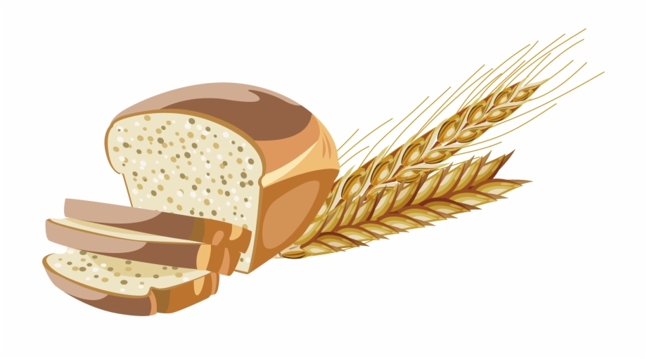 Whole brown transparent . Clipart bread grain
