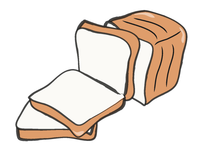 Clipart bread. Panda free images breadclipart