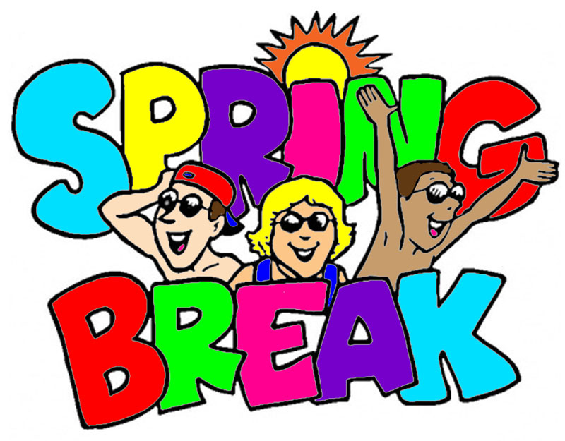 Camp clipart spring. School vacation