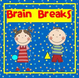 best elementary breaks. Break clipart brain break