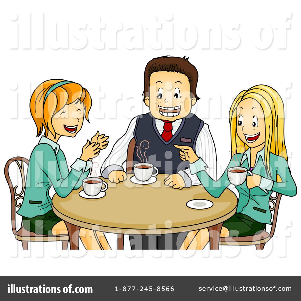 Illustration by bnp design. Break clipart coffee break