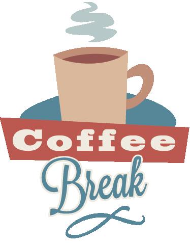 Wall sticker tenstickers. Break clipart coffee break
