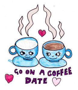 Break clipart coffee date, Break coffee date Transparent ...