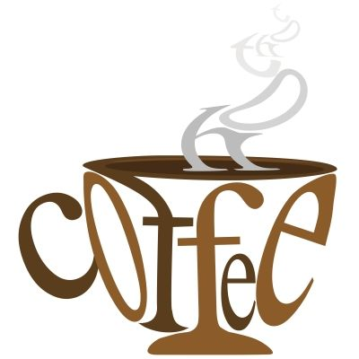 Cool pinterest. Clipart coffee word