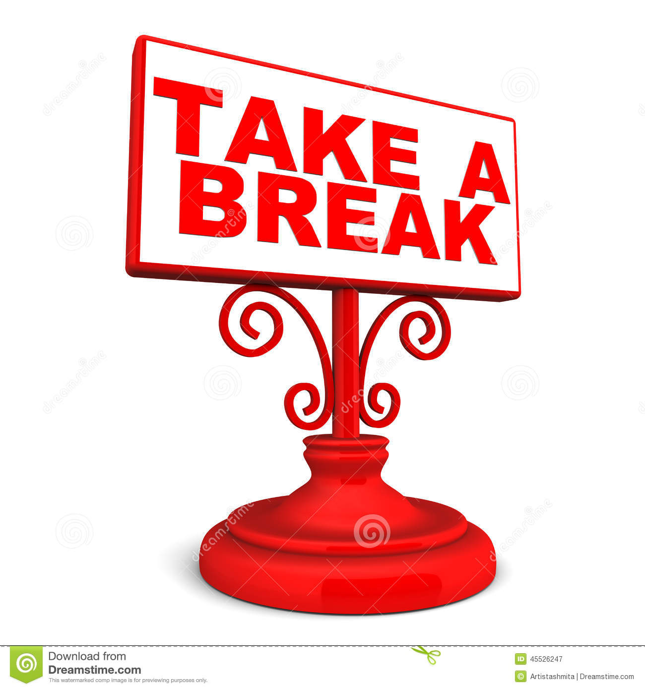 Break clipart free time.  collection of take