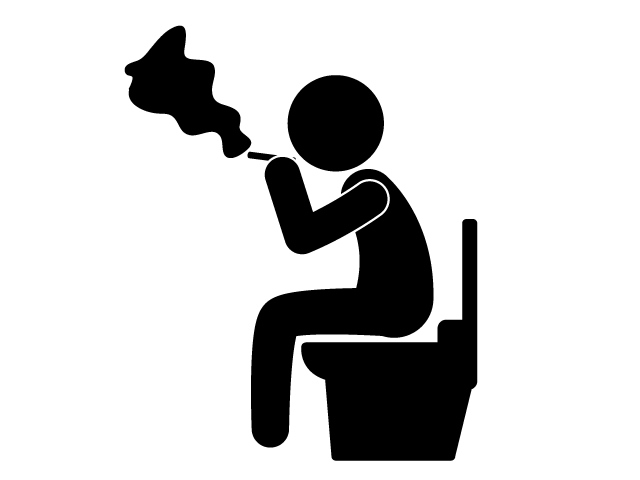 Break clipart free time. Sit on a toilet