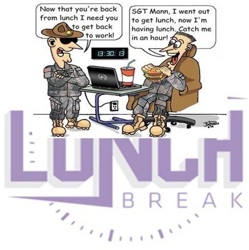 Break clipart lunch hour. Excessive long breaks bebee