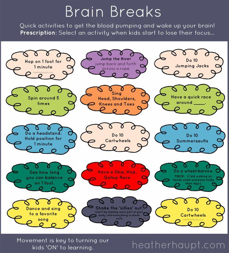 Remarkable free brain gym. Break clipart mind