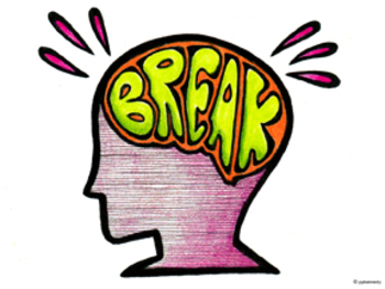 New brain guided relaxation. Break clipart mind