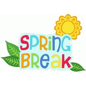 Break clipart spring. Free clip art download