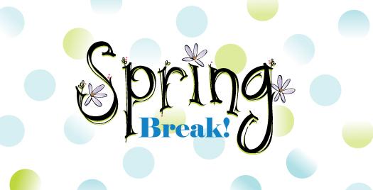 Break clipart spring. No school oakbrook academy