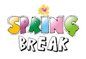 Break clipart spring.
