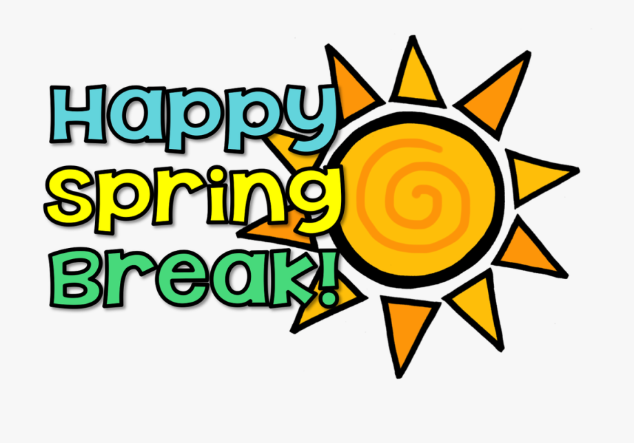 January clipart vacation. Happy spring have a