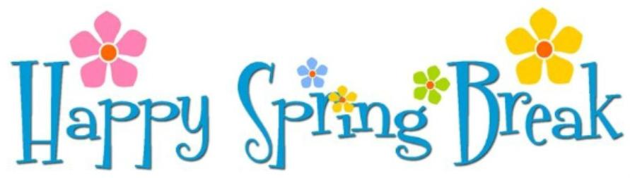Week at the children. Break clipart spring