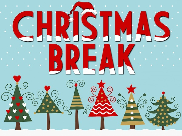 Christmas ideas for college. Break clipart think time
