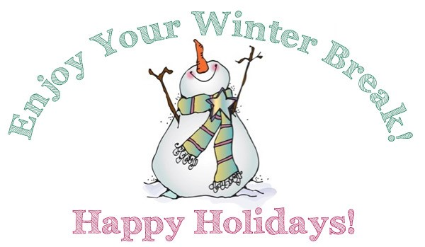Winter clipart break.  things to do