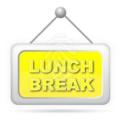 On sign incep imagine. Break clipart work lunch